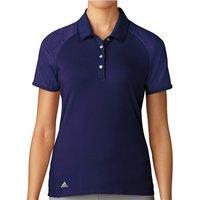 Adidas Ladies ClimaCool Aeroknit Circle Polo Shirt