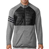 Adidas Mens ClimaHeat Quilted Half Zip Jacket