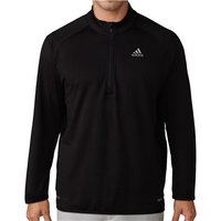 Adidas Mens ClimaHeat Gridded Quarter Zip Pullover