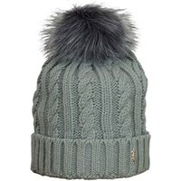 Ladies Cable Golf Bobble Beanie Hat