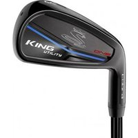Cobra King Utility Black One Length Irons (Steel Shaft)