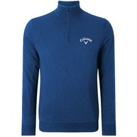 Callaway Mens Quarter Zip Long Sleeve Sweater