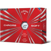 Callaway Chrome Soft Golf Balls (12 Balls)