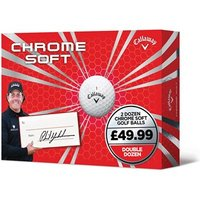 Callaway Chrome Soft Double Dozen Golf Balls (24 Balls)