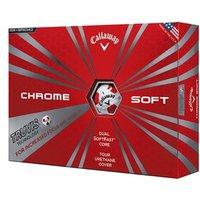 Callaway Chrome Soft Truvis Golf Balls (12 Balls)