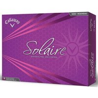 Callaway Ladies Solaire Pink Golf Balls (12 Balls)