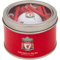 Liverpool Golf Ball And Tee Set