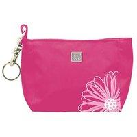 Flower Embroidered Golf Hand Bag