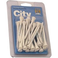 Manchester City Football Club Wooden Tees (30 Pack)