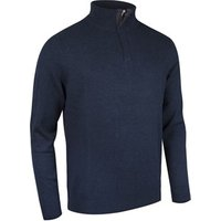 Glenmuir Mens George Cashmere Zip Neck Sweater