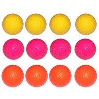 Links Choice Coloured Optic Golf Balls (50 Balls)