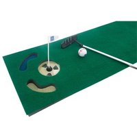 PGA Tour 6 Feet Putting Mat with Guide Ball and Putter