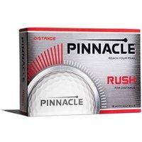 Pinnacle Rush White Golf Balls (12 Balls)