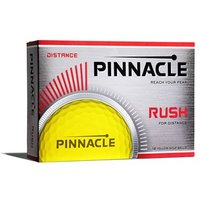 Pinnacle Rush Yellow Golf Balls (12 Balls)