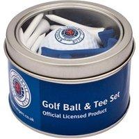 Rangers Golf Ball And Tee Set