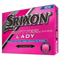 Srixon Ladies Soft Feel Pink Golf Balls (12 Balls) 2016