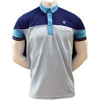Sunderland Mens Hawk Eye Solid Colour Piping Insert Polo Shirt
