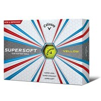 Callaway SuperSoft Yellow Golf Balls (12 Balls) 2017