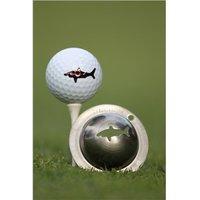 Tin Cup Ball Marker - Razors Edge