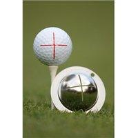Tin Cup Ball Marker - Sharp Shooter