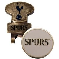 Tottenham Golf Hat Clip With Ball Marker