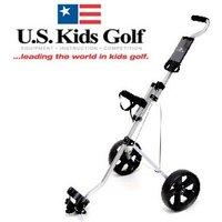 US Kids Easy Walk Two Wheel Junior Trolley