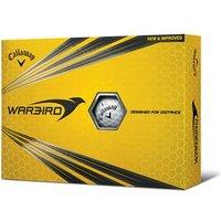 Callaway Warbird White Golf Balls (12 Balls) 2017