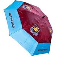 West Ham 60 Inch Double Canopy Umbrella