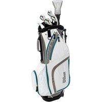 Wilson Ladies Prostaff HDX Combo Half Golf Set (Graphite Shaft)