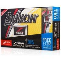 Srixon Z-Star Pure White Golf Balls (15 Ball Bonus Pack) 2017
