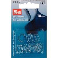 Prym BH Zubehör transparent 10mm 10 Stück