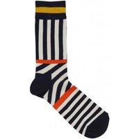 Socken mit Streifenmuster
