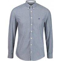 Shaped-Fit Hemd mit Button-Down Kragen