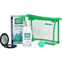 OPTI-FREE pure moist Reise-Set 90 ml mit Handspiegel