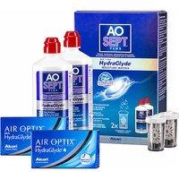 AIR OPTIX plus HydraGlyde AOSept Plus 2er Set