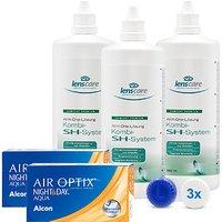 AIR OPTIX NIGHT&DAY AQUA, BC 8,4 Kombi-SH-System 3er Set