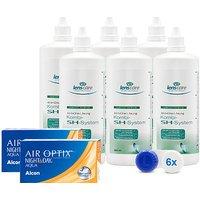 AIR OPTIX NIGHT&DAY AQUA, BC 8,4 Kombi-SH-System 6er Set
