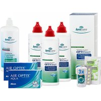 AIR OPTIX AQUA OPTISept 3er Set