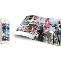 £11.99 instead of £18.99 (from Easy Photobook) for an A4 soft cover 50-page photobook - save 37%