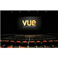 Image of £9.49 instead of £19.48 for two 2D cinema tickets at Vue, or £20 for five tickets from a choice of 87 nationwide locations - choose to use in one visit or across separate dates and save up to 51%