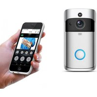 Image of £29.99 instead of £135 (from Wow What Who) for a WiFi security doorbell - choose from black and silver and save 78%