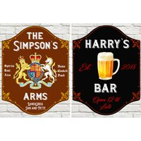 €13 instead of €49.05 for a small home pub sign or €16 for a large home pub sign from Colour House - save up to 73%