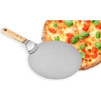 £11.99 for a stainless steel round pizza tray from Wish Imports!