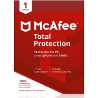 £11.99 instead of £24.99 for one year of McAfee Total Protection 2020 on one device from Download Buyer - save 52%