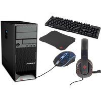 From €269 instead of €577.42 for a Lenovo gaming PC with 500GB HD and 8GB RAM, or from €349 for a gaming PC, keyboard, mouse and headset from Techy Team - save up to 53%