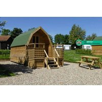 From £39 for a two-night camping pod break for up to four people, or from £69 for a three-night break at St. Helens in the Park, North York Moors National Park - save up to 35%