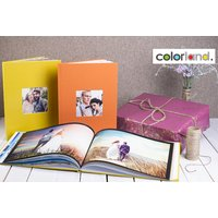 From £12 instead of £58.95 (from Colorland) for one 80-page personalised photobook, or from £14 for one 100-page photobook - choose either landscape or portrait and from over 100 designs while saving up to 80%
