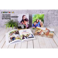 £11.99 instead of £70.95 (from colorland) for a landscape or portrait 120-page personalised A4 photobook - save 83%