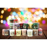£26.99 instead of £59.70 for 30 assorted Yankee votive candles from Yankee Bundles - save 55%