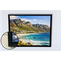 From £10 for a personalised framed floating canvas - choose from A4 or A3 from Fab Deco Ltd - Deco Matters - save up to 66%